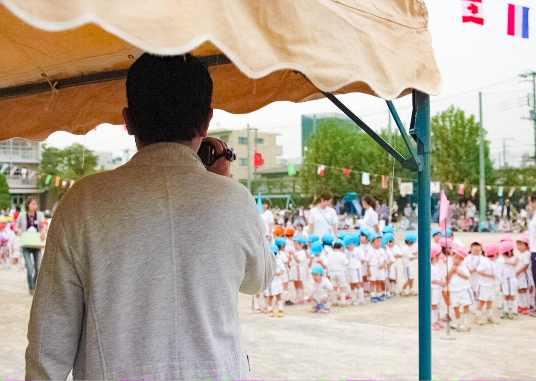 オフショット:埼玉県、娘の運動会にて
