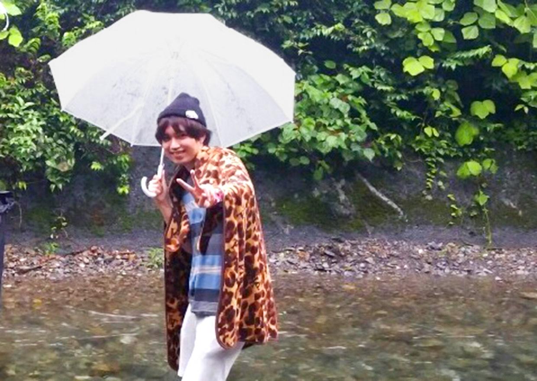 オフショット:秋川渓谷、瀬音の湯にて