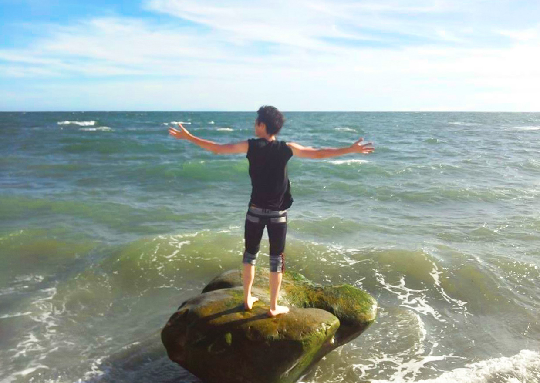 オフショット:湘南の海にて