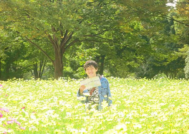 オフショット:立川市、昭和記念公園にて