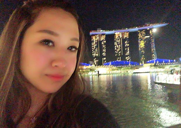 オフショット:シンガポール、マリーナ・ベイにて