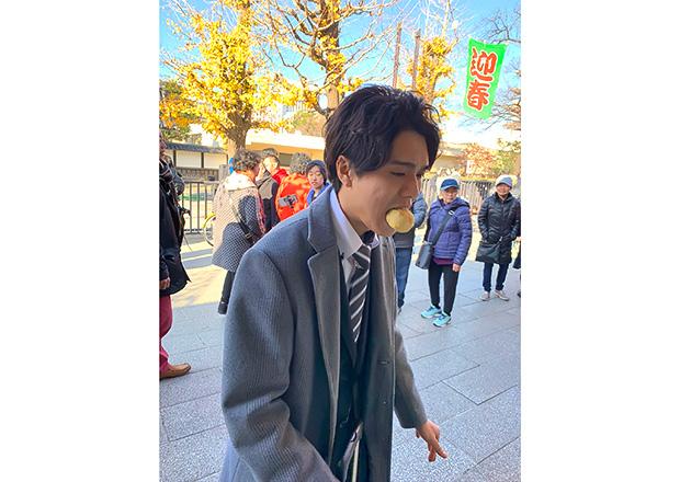 オフショット:東京都、浅草のお寺めぐりにて