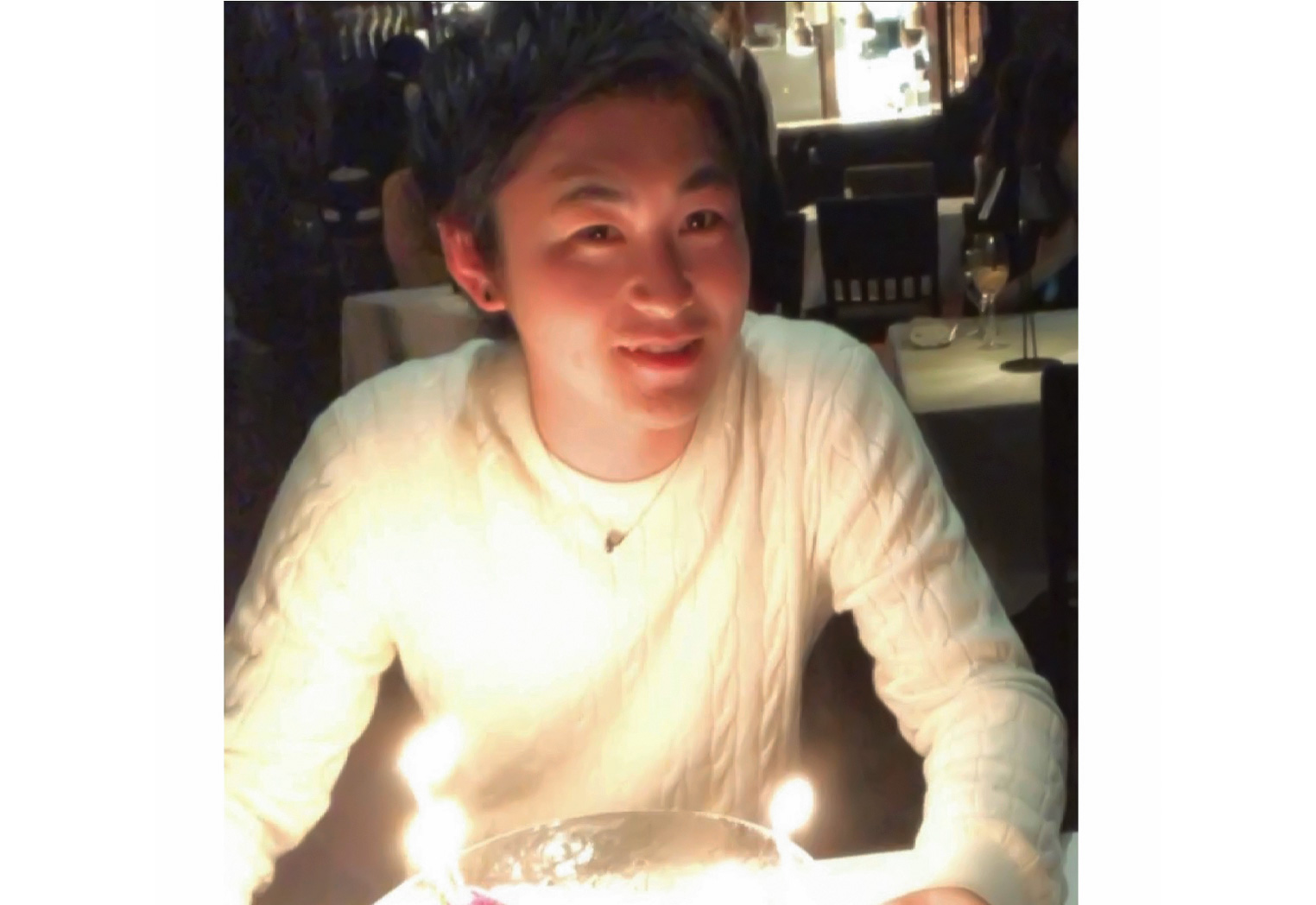 オフショット:愛知県、名古屋市のレストランにて