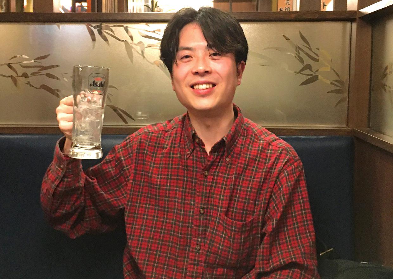オフショット:埼玉県さいたま市、居酒屋にて食事